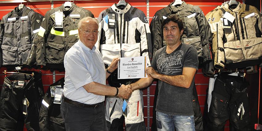 Motosprint Xperience ficha su primer embajador de lujo: la leyenda del motociclismo, Oriol Puig Bultó