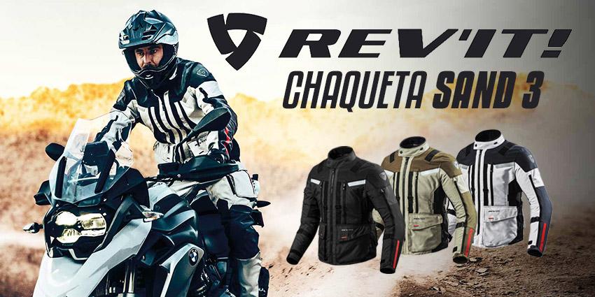 Oceanía Caballero Canguro  Rev'it Sand 3: la chaqueta 4 estaciones que todo motero adventure necesita  – Motosprint