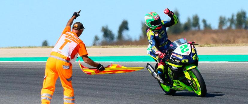 Motosprint.com dia de la mujer Ana Carrasco Supersport 300 Gp de Portugal racing sport mujeres moteras mujeres en moto motoristas