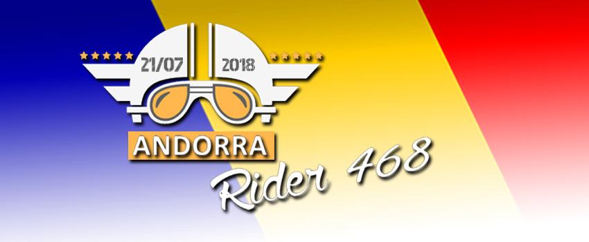RIDER 468 ANDORRA: recorre las mejores carreteras del Pirineo