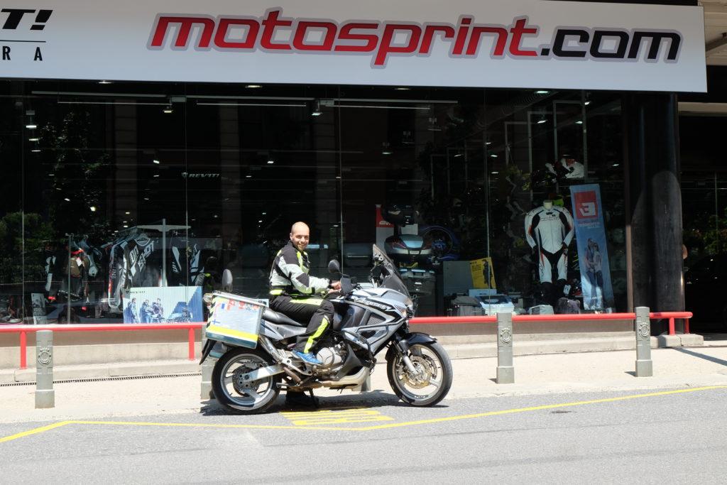 Motosprint.com Test and Ride Ruben Suria Andorra