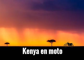 KENYA EN MOTO - Piki Piki Tour