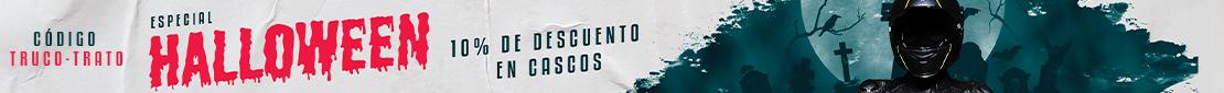 HALLOWEEN 2020 Promoción 10% de Dto. en Cascos - motosprint.com