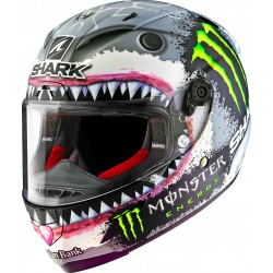 CASCO SHARK RACE-R PRO LORENZO WHITE SHARK