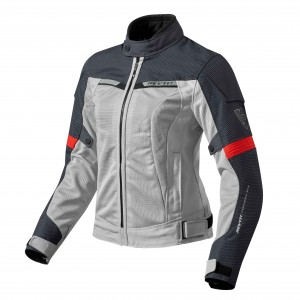 CHAQUETA REV'IT AIRWAVE2 WOMAN SILV/RED
