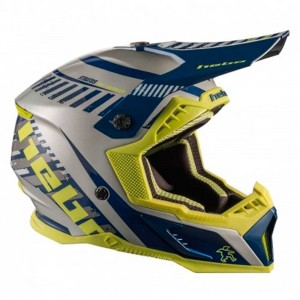CASCO HEBO ENDURO MX STRATOS BLUE
