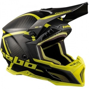 CASCO HEBO OFF ROAD LEGEND CARBON VERDE