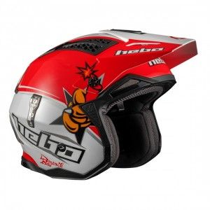 CASCO HEBO ZONE 4 TONI BOU REPLICA WHITE