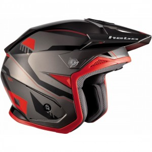 CASCO HEBO ZONE 5 PURSUIT ROJO