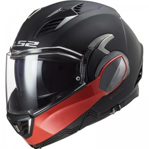 CASCO LS2 FF900 VALIANT II HAMMER MATT BLACK RED