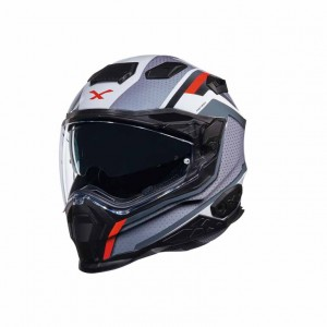 CASCO NEXX X.WST 2 MOTROX WHITE/GREY/RED