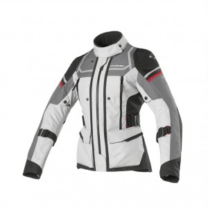 CHAQUETA CLOVER OUTLAND LADY BLACK-GREY