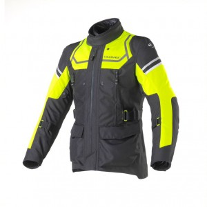 CHAQUETA CLOVER OUTLAND LADY BLACK-YELLOW