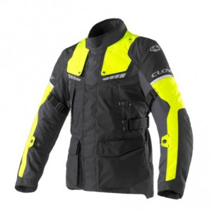 CHAQUETA CLOVER SCOUT 3 LADY BLACK-YELLOW