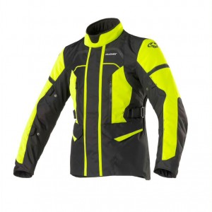 CHAQUETA CLOVER STORM 3 LADY BLACK-YELLOW
