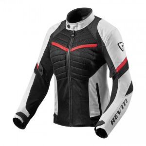 CHAQUETA REV'IT ARC AIR LADIES WHITE-RED