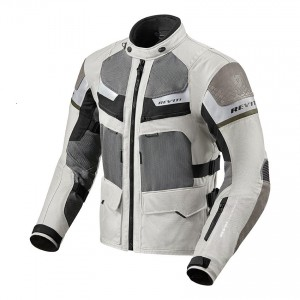 CHAQUETA REV'IT CAYENNE PRO LIGHT GREY-GREEN