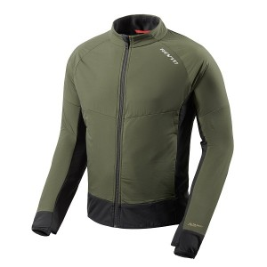 CHAQUETA REV'IT CLIMATE 2 D.GREEN-BLACK