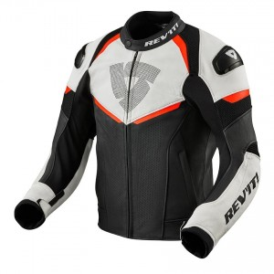 CHAQUETA REV'IT CONVEX BLACK-NEON RED