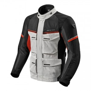 CHAQUETA REV'IT OUTBACK 3 BLACK SILVER-GREEN