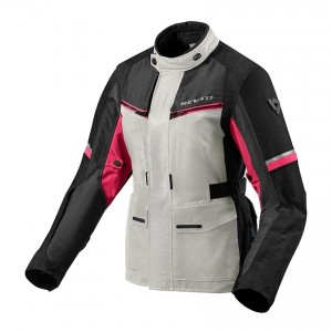CHAQUETA REV'IT OUTBACK 3 LADIES SILVER-FUCSHIA
