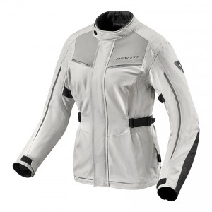 CHAQUETA REV'IT VOLTIAC 2 LADIES SILVER-BLACK