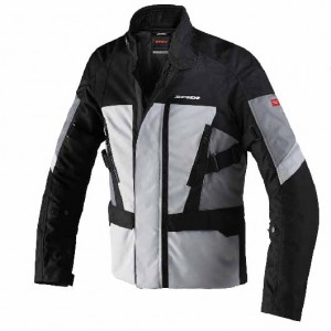 CHAQUETA SPIDI TRAVELER 2 BLACK/GREY