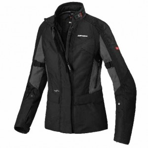 CHAQUETA SPIDI TRAVELER 2 LADY BLACK/SLA