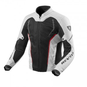 CHAQUETA REV'IT GT-R AIR 2 WHITE-BLACK