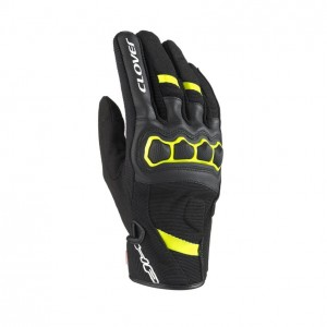 GUANTE CLOVER AIRTOUCH-2 LADY NEGRO/AMARILLO