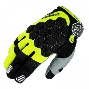 GUANTE ONBOARD KIDS CROSS KX-3 NE/AM/FLUOR