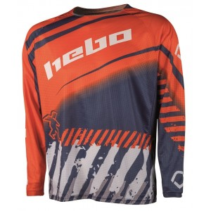 CAMISETA HEBO ENDURO-CROSS STRATOS ORANGE