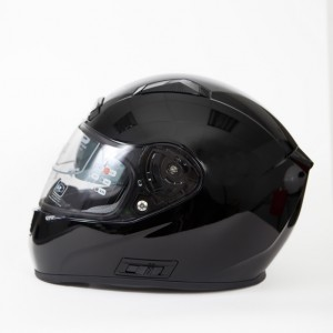 CASCO SUN-X ALONE NEGRO