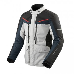 CHAQUETA REV'IT SAFARI 3 SILVER-BLUE