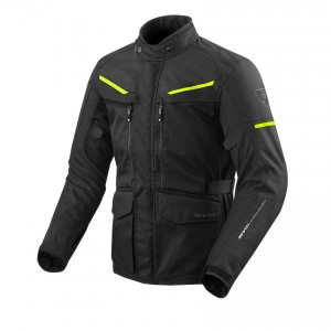 CHAQUETA REV'IT SAFARI 3 BLACK-NEON YELLOW