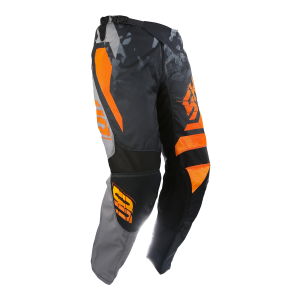 PANTALON SHOT SQUAD GRIS/NEON ORANGE