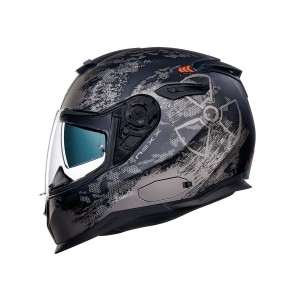 CASCO NEXX SX.100 TOXIC BLACK/RED MT