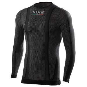 CAMISETA SIX2 TS2 ML BLACK CARBON