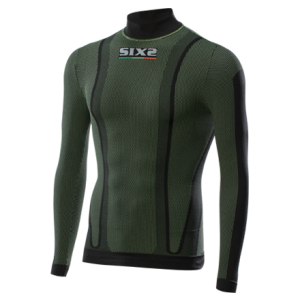 CAMISETA SIX2 TS3 ML DARK GREEN
