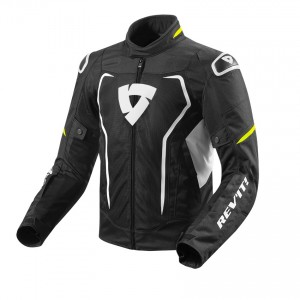 CHAQUETA REV'IT VERTEX AIR BLACK-NEON YELLOW