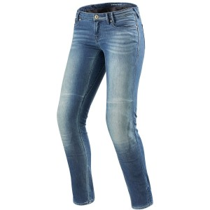 PANTALON JEANS REV'IT WESTWOOD LADIES SF LIGHT BLUE USED