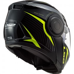 CASCO LS2 FF902 SCOPE SKID BLACK HV YELLOW