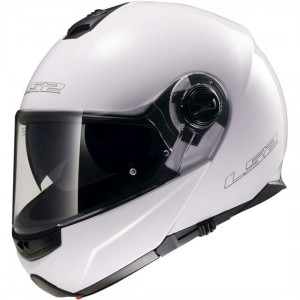 CASCO LS2 STROBE SOLID WHITE