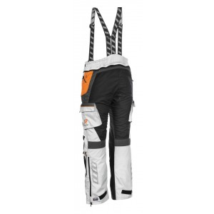 PANTALON RUKKA ROUGHROAD SILVER/ORANGE
