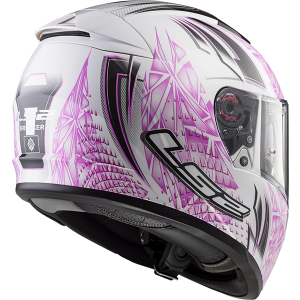 CASCO LS2 FF390 BREAKER RUMBLE WHITE PINK