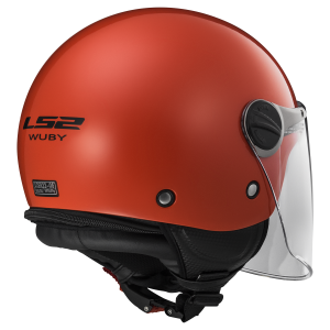 CASCO LS2 WUBY SOLID RED