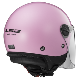 CASCO LS2 WUBY SOLID PINK