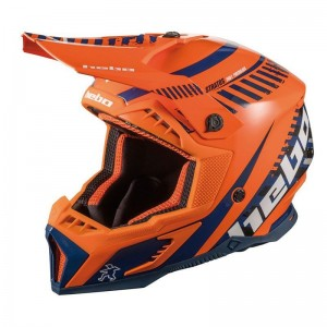 CASCO HEBO ENDURO MX STRATOS ORANGE