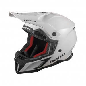 CASCO HEBO ENDURO MX MADDOCK WHITE