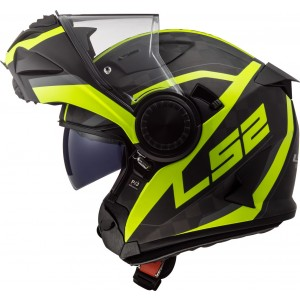 CASCO LS2 VORTEX FRAME MATT C GLOSS H-V YELLOW